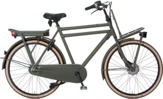 Cortina E-U4 transport raw herenfiets